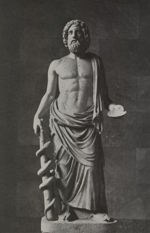 Asclepius. Marble. Saint Petersburg, The State Hermitage Museum