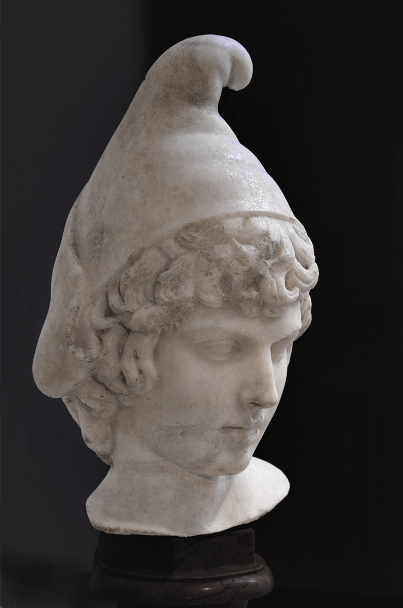 Young Attis. Parian marble. 2nd cent. CE (age of Hadrian). Paris, National Library
