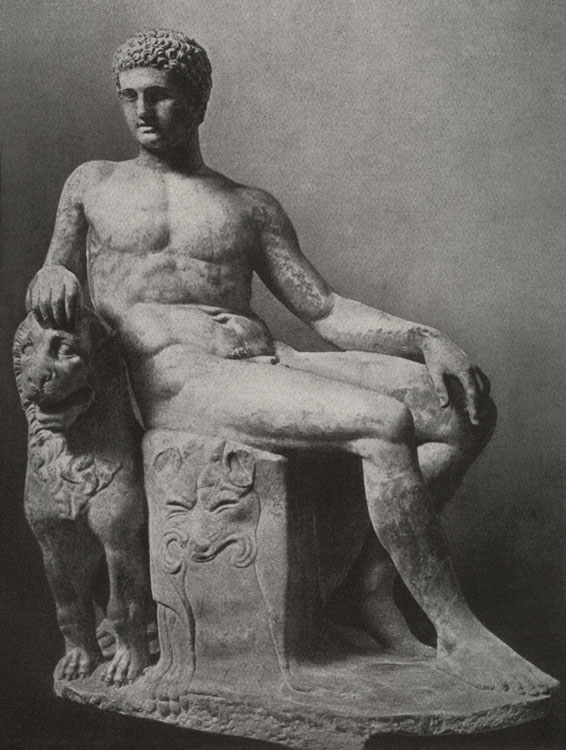 Dionysos. Marble. Rome