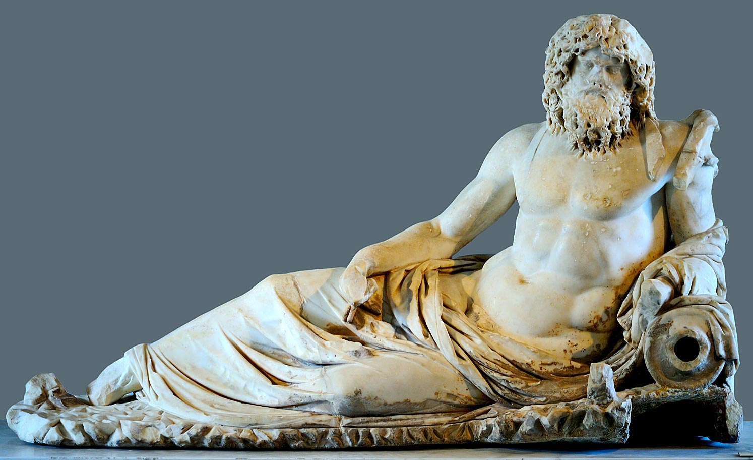 Oceanus. Marble. 2nd cent. CE. Istanbul, Archaeological Museum