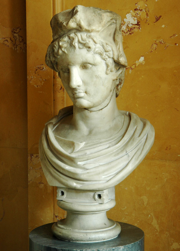 Paris. Marble. Roman, after Greek model of 4th century BCE. Inv. No. A 310. Saint Petersburg, The State Hermitage Museum