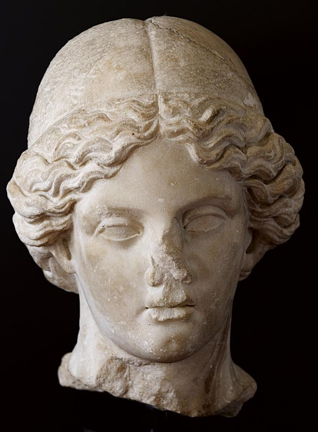 Minerva. Greek marble. Late 1st — early 2nd cent. CE. Inv. No. MR 71. Brescia, Santa Giulia Civic Museum