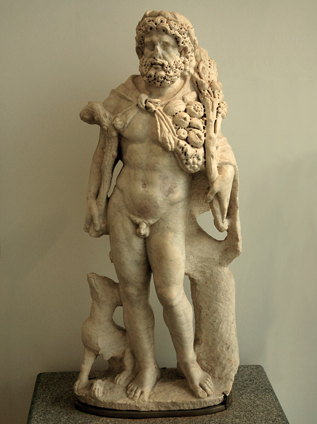 Silvanus. Marble. Rome, Roman National Museum, Baths of Diocletian