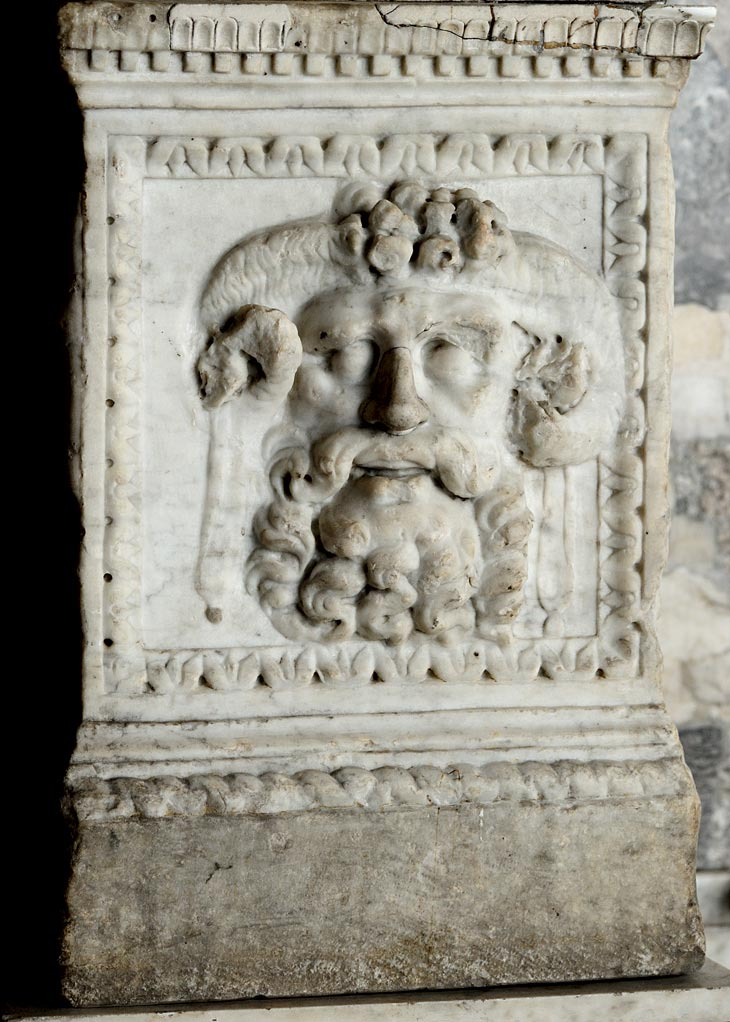Altar. Marble. 1st century CE. Inv.N A 305 Saint Petersburg, The State Hermitage Museum
