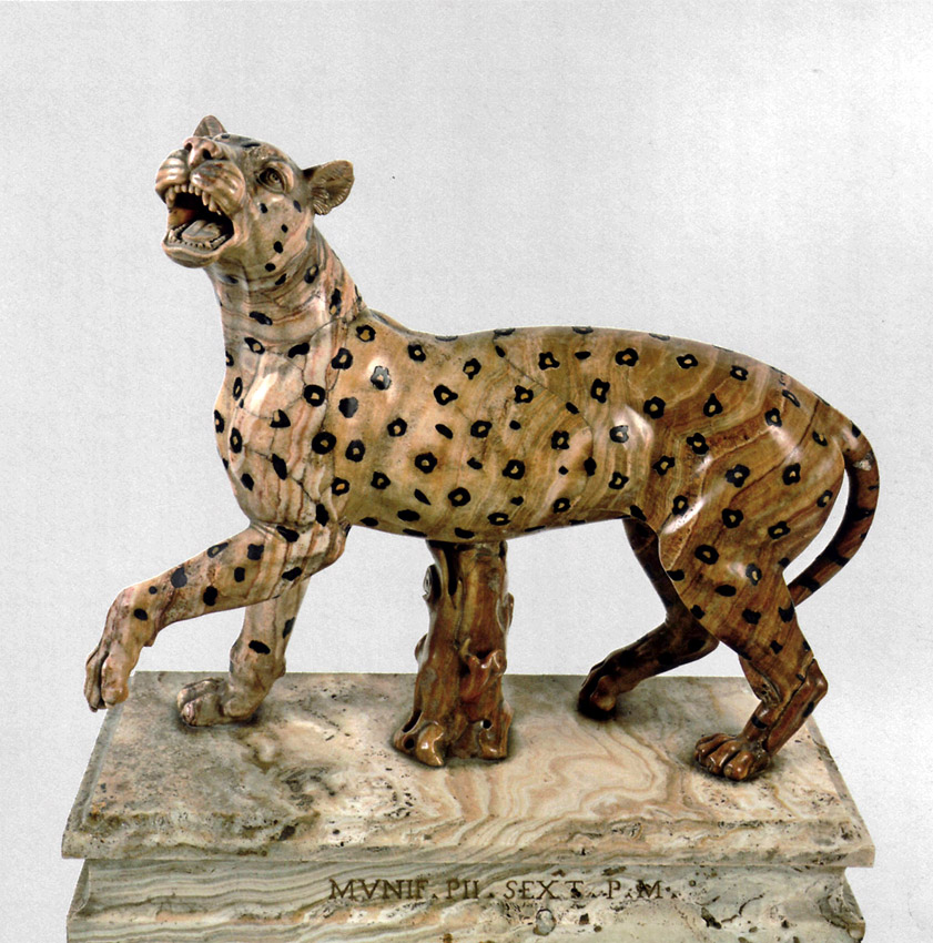 Leopard. Inv. No. 383. Rome, Vatican Museums, Pius-Clementine Museum, Room of the Animals, 117
