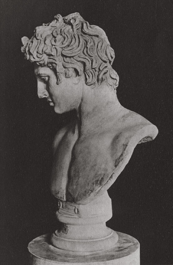 Head of an youth. Marble. Pavlovsk, Palace-Museum
