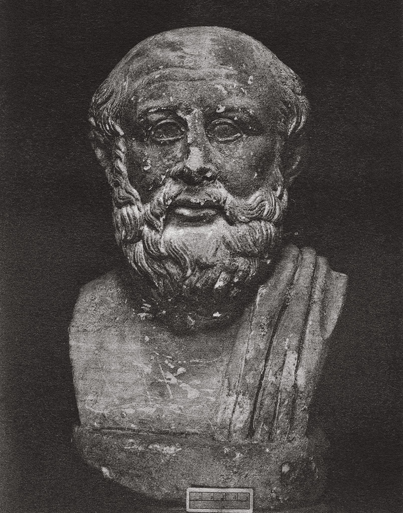 Portrait of an unknown man. Marble. Rome, Capitoline Museums, Palazzo dei Conservatori