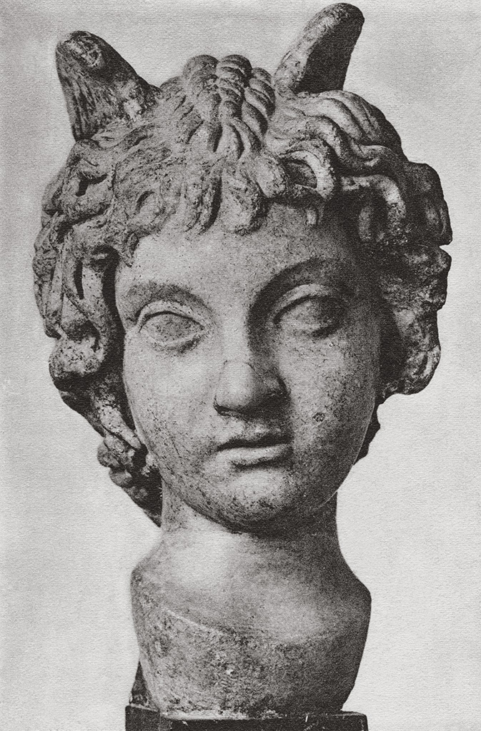 Head of a boy. Marble. Second half of the 2nd century CE. Geneva, Museum of Art and History