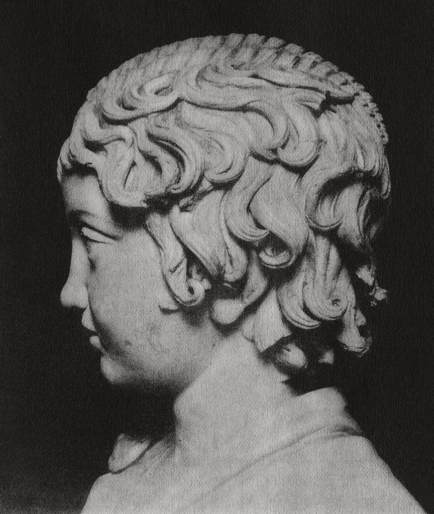 Portrait of a boy. Marble. Roman copy of ca. 117—138 CE after a Greek original of the 5th century BCE. Saint Petersburg, The State Hermitage Museum