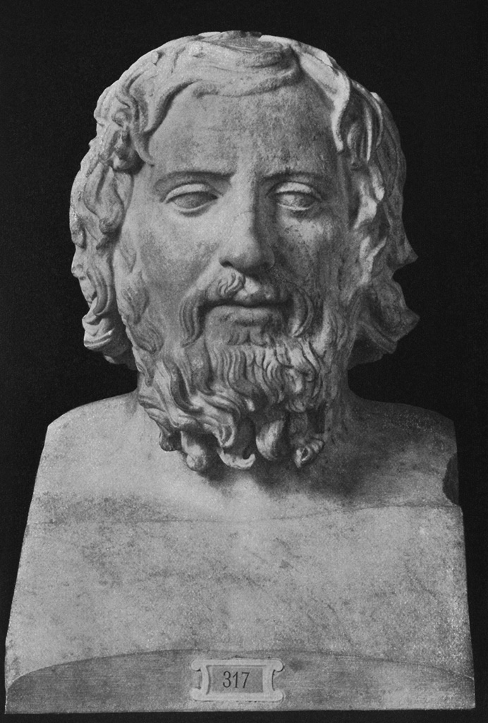 Term of an unknown Greek. Marble. Inv. No. Sk 317. Berlin, State Museums
