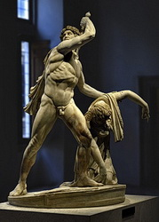 Gaul Killing Himself And His Wife Also Known As Ludovisi Gaul Or The Galatian Suicide Rome Roman National Museum Palazzo Altemps