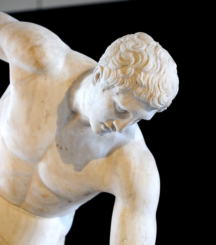 discobolus facts Contact address: vasileos konstantinou anevue (opposite the statue of myron discobolus) athens116 35 office hours: monday to friday 7:30 am – 14:30 pm.