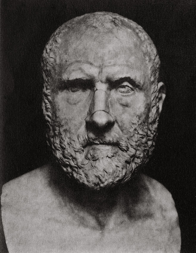 Male portrait. Marble. Early 3rd century. Saint Petersburg, The State Hermitage Museum