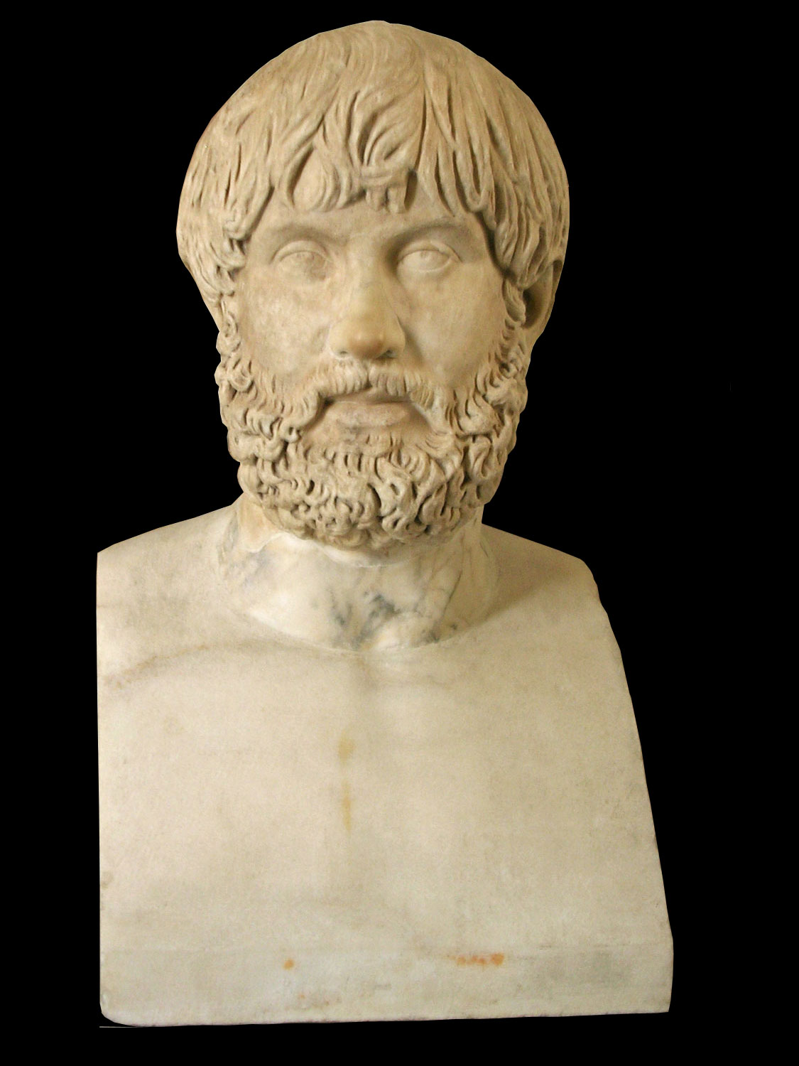 Herm with a portrait head. 2nd century CE. Inv. No. MC1910. Rome, Capitoline Museums, Palazzo Nuovo