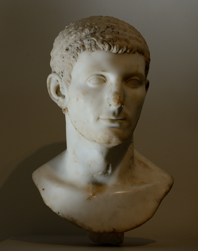 Portrait of a young man. Marble. 81—96 CE. Inv. No. 09.221.5. New York, the Metropolitan Museum of Art