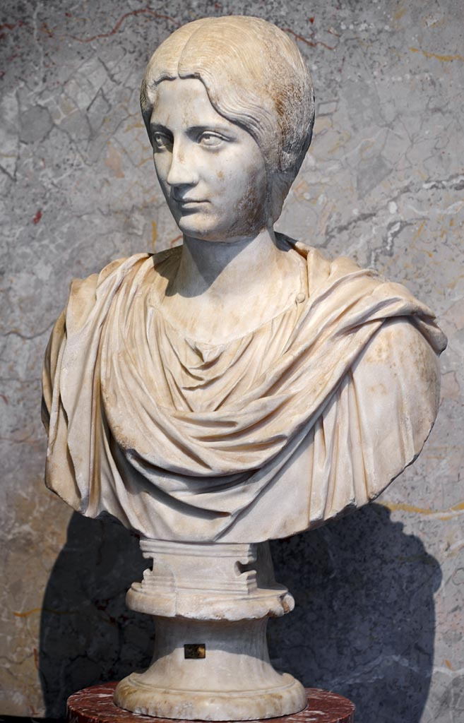 An unknown woman. Marble. Early 3rd century CE. Inv. No. AS 194. Vienna, Museum of Art History