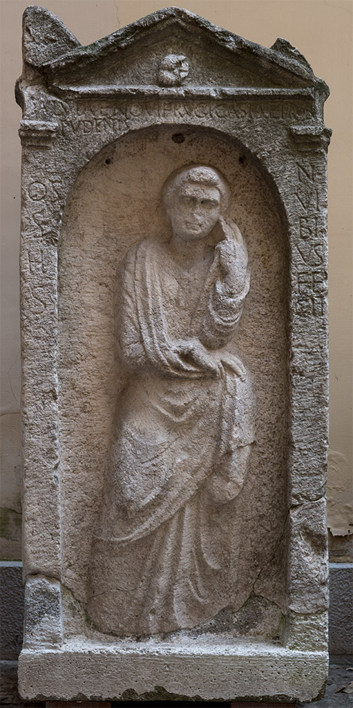 Tombstone of Salvia. Second half of the 1st century BCE.  Santa Maria Capua Vetere, Archaeological Museum of ancient Capua