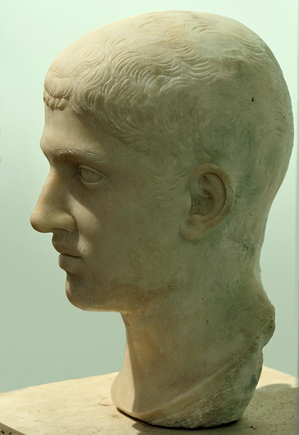 Alexander Severus. Marble. 222—235 CE. Inv. No. A 0.9.4080. Milan, Civic Archaeological Museum