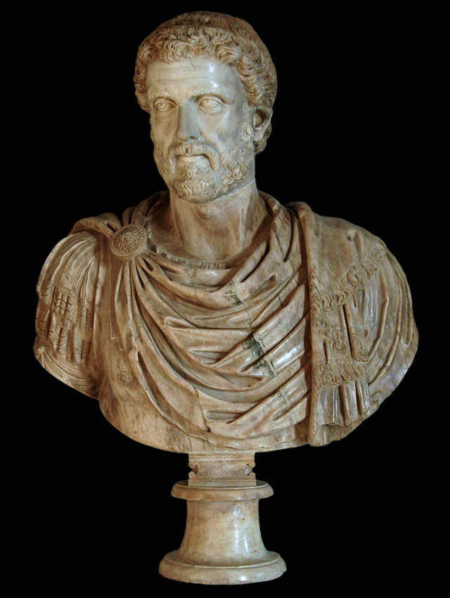 Bust of Antoninus Pius. Marble. 16th century. Inv. No. MC643. Rome, Capitoline Museums, Palazzo Nuovo, Great Hall