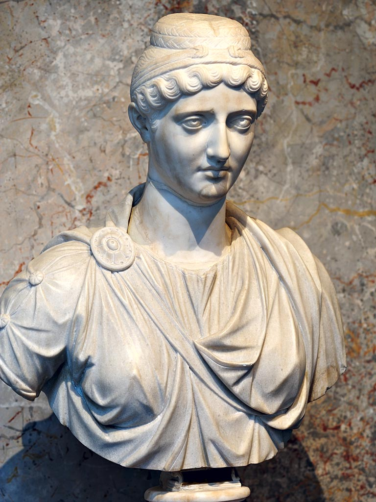 Faustina the Elder. Marble. Mid-2nd century. Inv. No. AS I 12. Vienna, Museum of Art History
