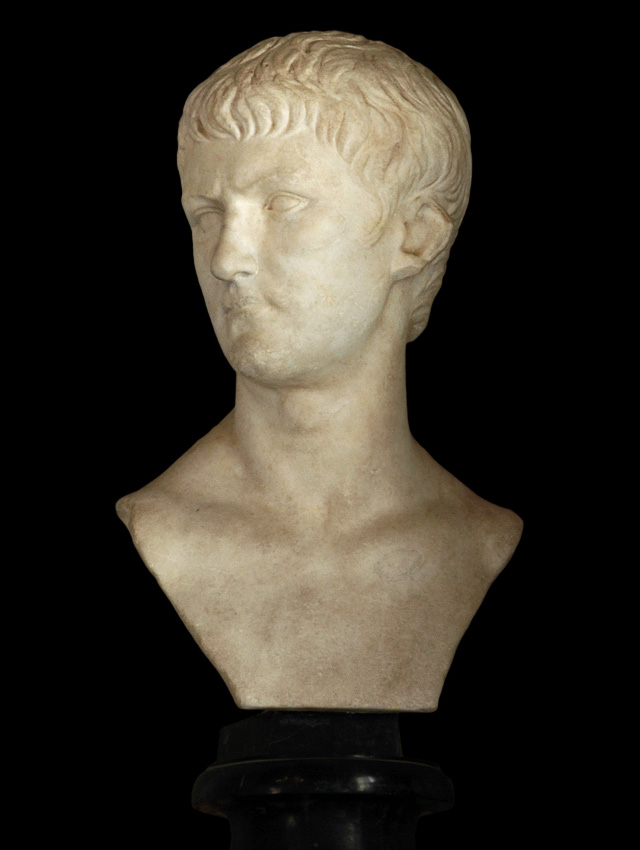 Agrippa Postumus (?). Marble. 4—7 CE. Height 61 cm. Inv. No. MC422. Rome, Capitoline Museums, Palazzo Nuovo, Hall of the Emperors