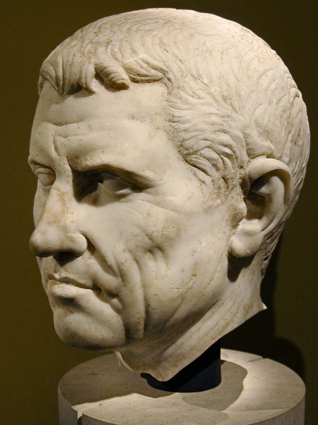 Agrippa? Marble. Last quarter of the 1st century BCE. Inv. No. I. 62. Vienna, Museum of Art History, Collection of Classical Antiquities