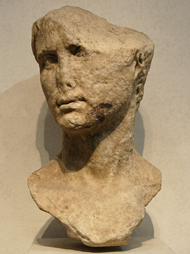 Octavian. Marble. Late 1st century BCE. Rome, Roman National Museum, Palazzo Massimo alle Terme