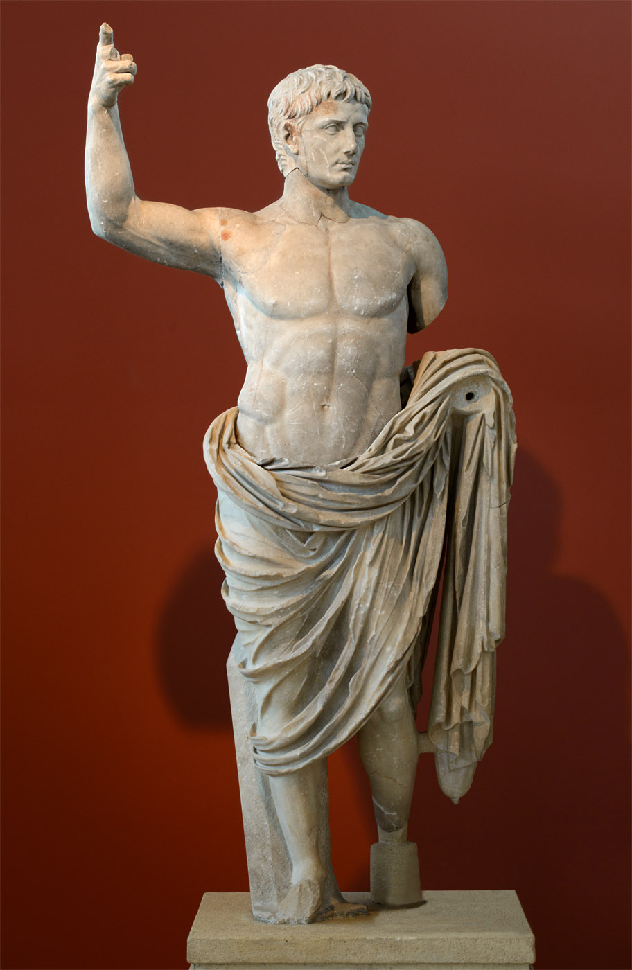Augustus. Marble. 14—37 CE. Thessaloniki, Archaeological Museum