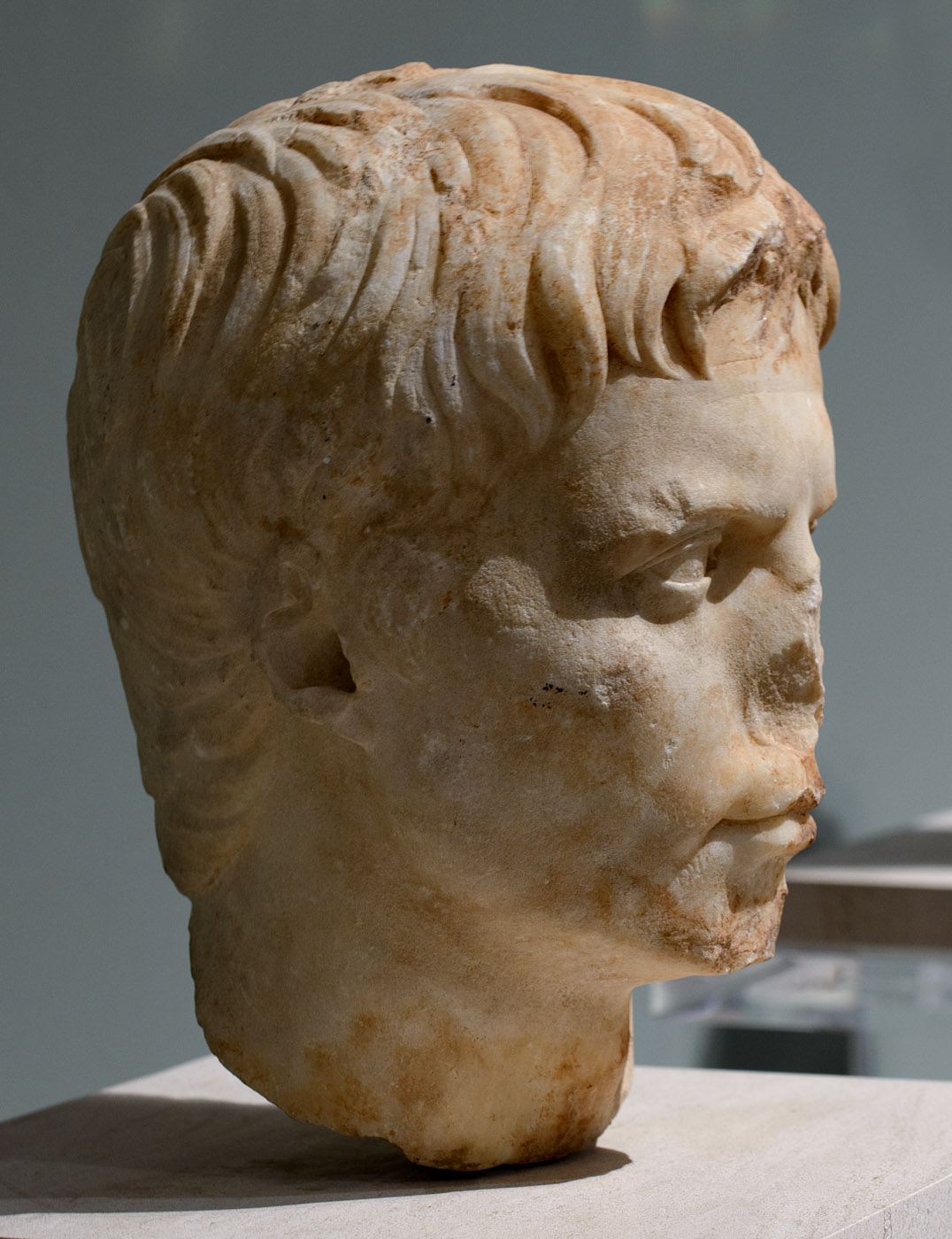 Portrait head of Augustus. Marble. Patras, 1st cent. CE. Inv. No. 42. Patras, New Archaeological Museum