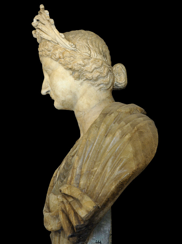 Livia. Marble. Time of Tiberius (14—37 CE). Height 96 cm. Inv. No. MC444. Rome, Capitoline Museums, Palazzo Nuovo, Hall of the Emperors