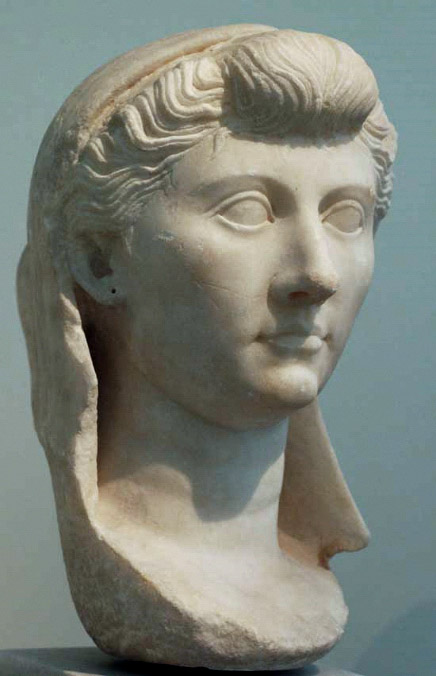 Livia Augusta. Marble. 1st century CE. Athens, National Archaeological Museum