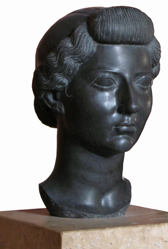Livia. Basanite. Circa 31 BCE. Height 32 cm. Inv. No. 1035. Paris, Louvre Museum