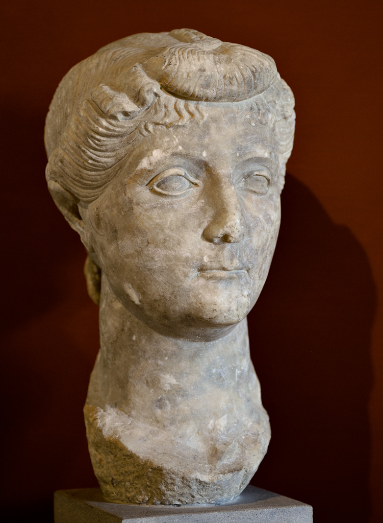 Livia, wife of August Marble. 35 BCE. Arezzo, Civic Archaeological Museum