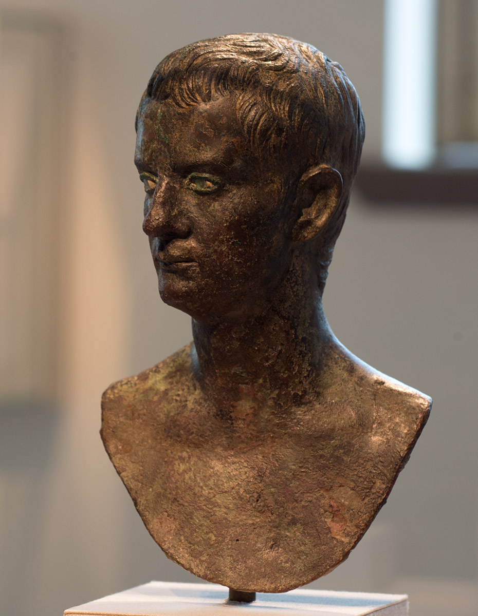 Caligula. Bronze. Ca. 37-41 CE. Inv. No. 23.160.23. New York, the Metropolitan Museum of Art