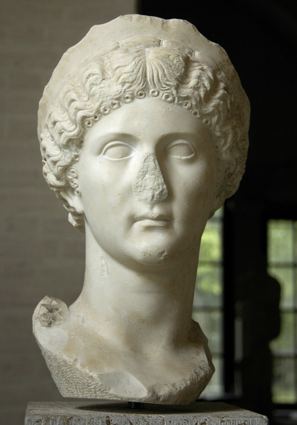 Drusilla (?), sister of Caligula. Marble. Inv. No. 316. Munich, Glyptotek