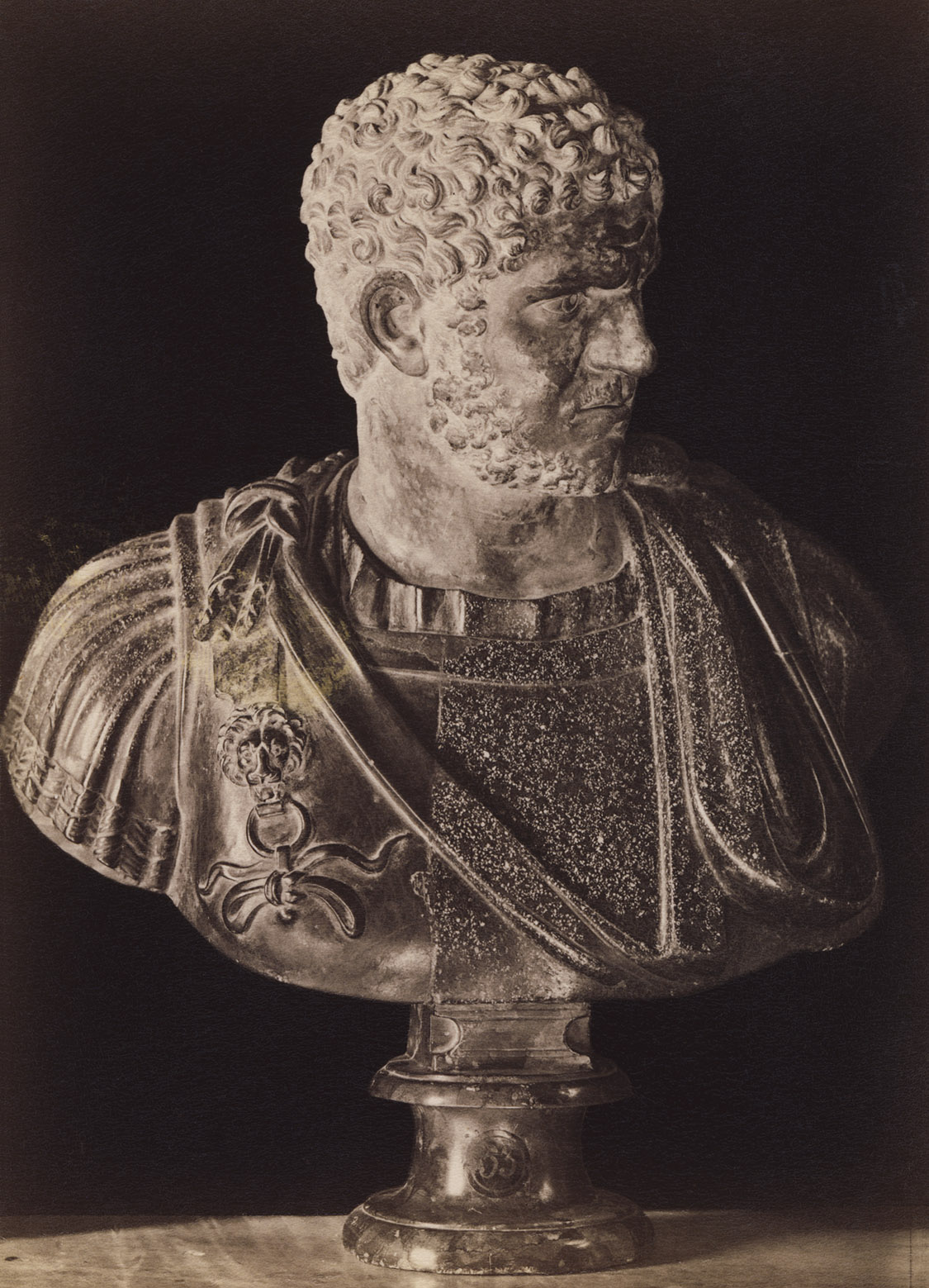 Caracalla.  Rome, Capitoline Museums, Palazzo Nuovo, Hall of the Emperors