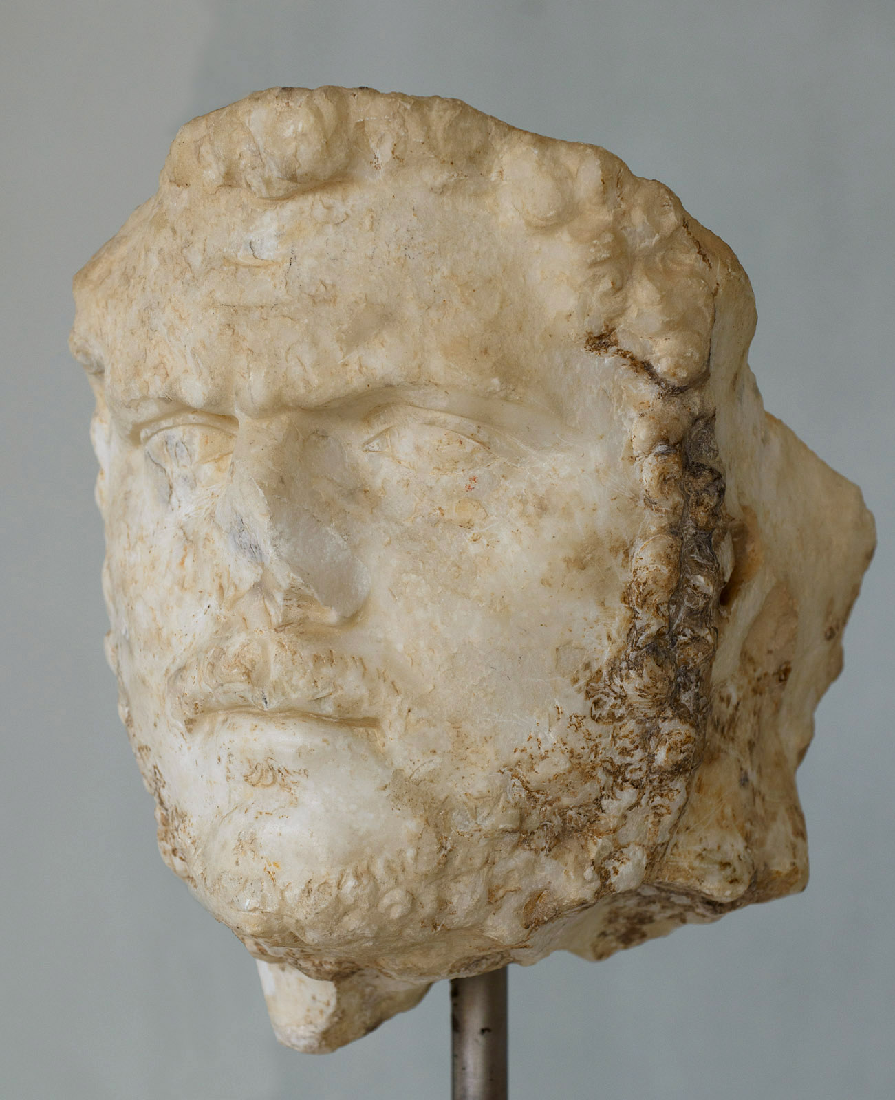 Caracalla. Marble. Ca. 215 CE. Inv. No. Acr. 1311. Athens, New Acropolis Museum