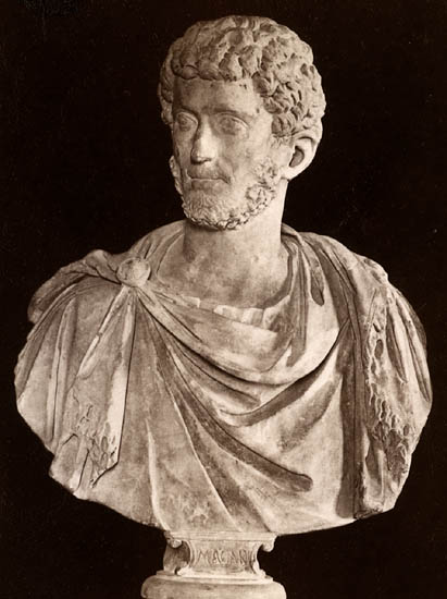 Carinus, the son of Carus. Marble. Rome, Capitoline Museums