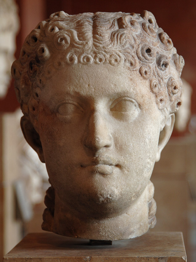 Agrippina the Younger? Marble. Ca. 44 CE. Inv. No. Cp 6443 (Ma 1232). Paris, Louvre Museum