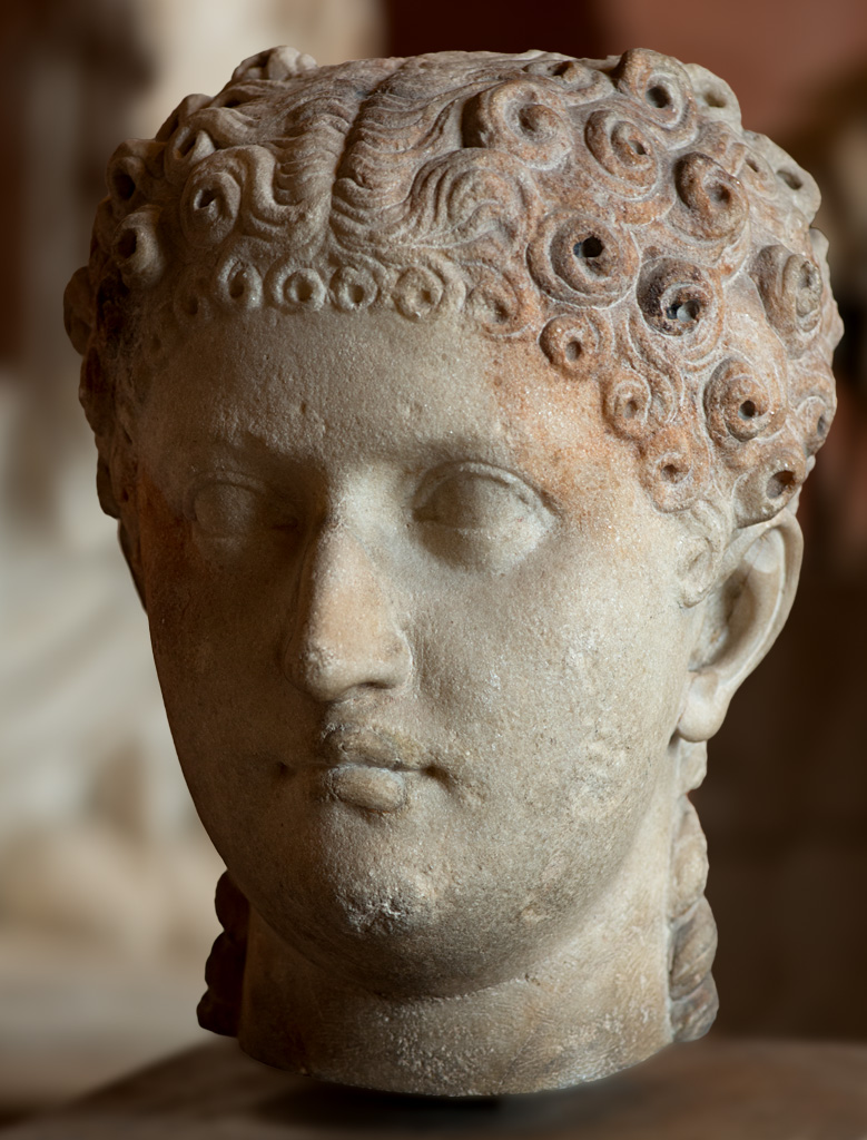 Agrippina the Younger (presumably). Marble. Ca. 44 CE. Inv. No. Ma 1232. Paris, Louvre Museum