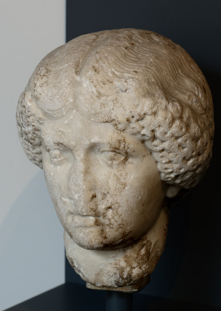 Agrippina the Younger (presumably). Marble. Mid-1st cent. CE. Padova, Archaeological Museum