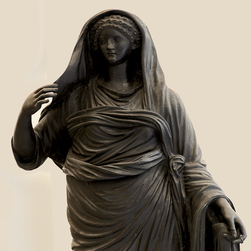 Agrippina the Younger. Bronze. 1st century CE. Inv. No. 5612. Naples, National Archaeological Museum