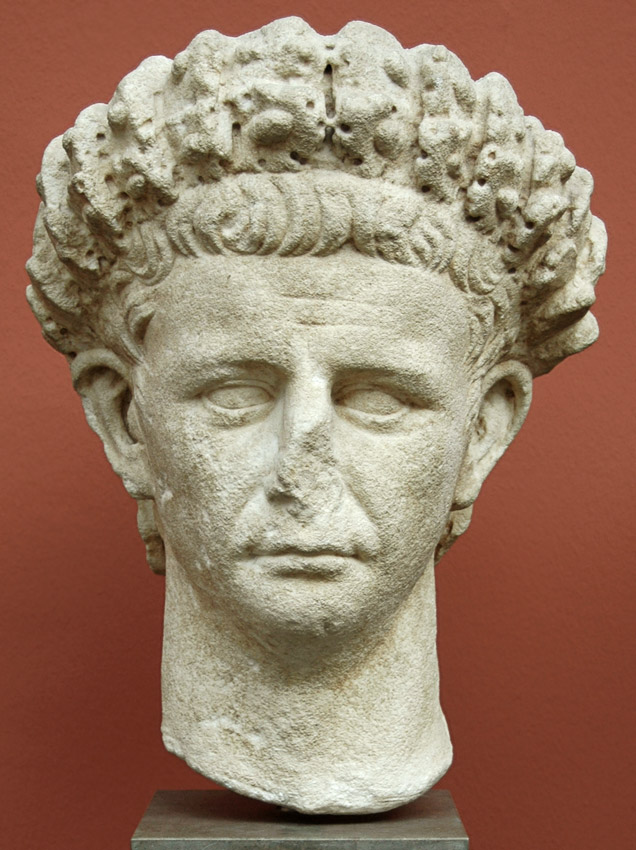 Claudius. Marble. 41—54 CE. Height 43 cm. Inv. No. 1423. Copenhagen, New Carlsberg Glyptotek