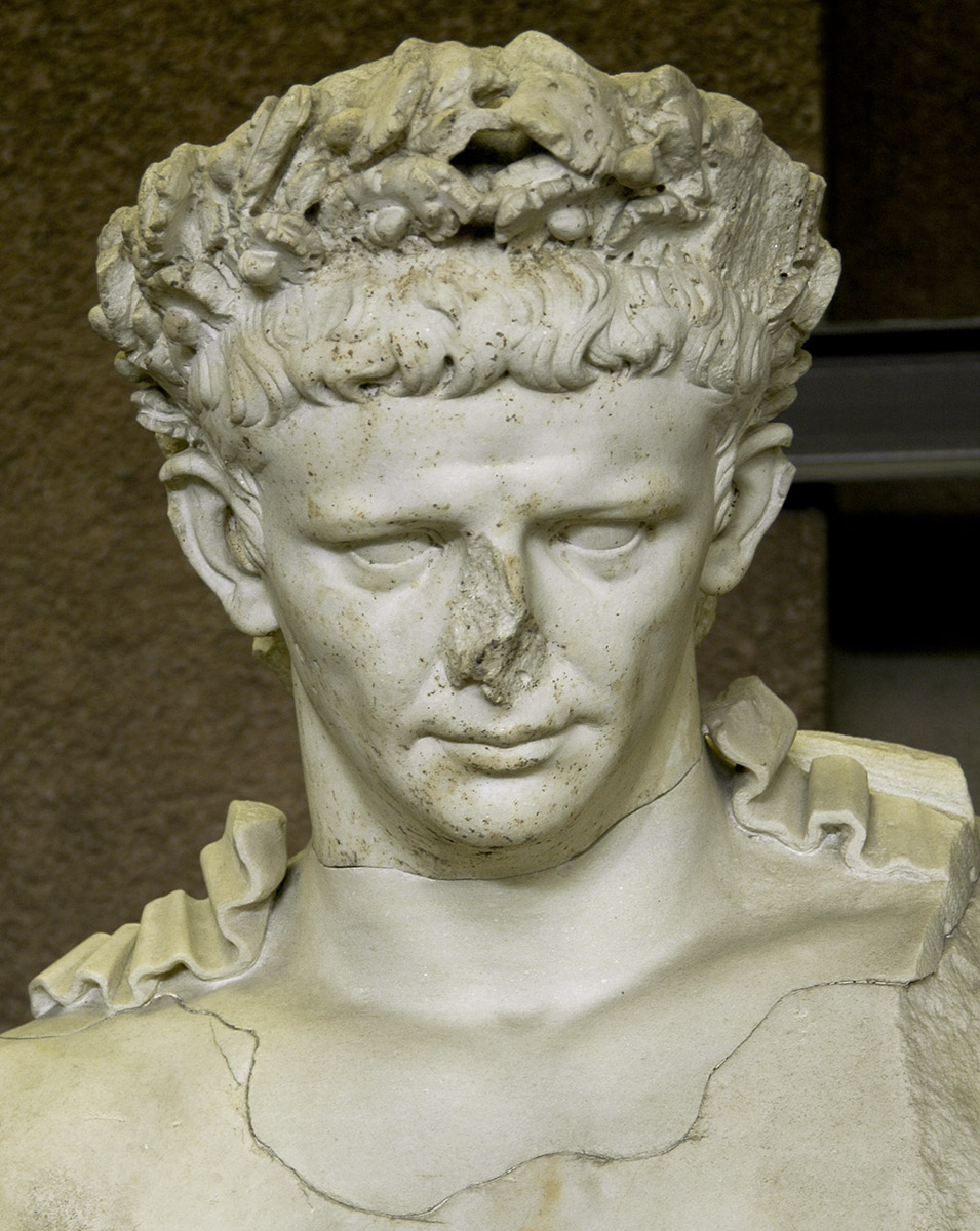 Claudius. Marble. 45—54 CE. Inv. No. 9950. Rome, Vatican Museums, Gregorian Profane Museum