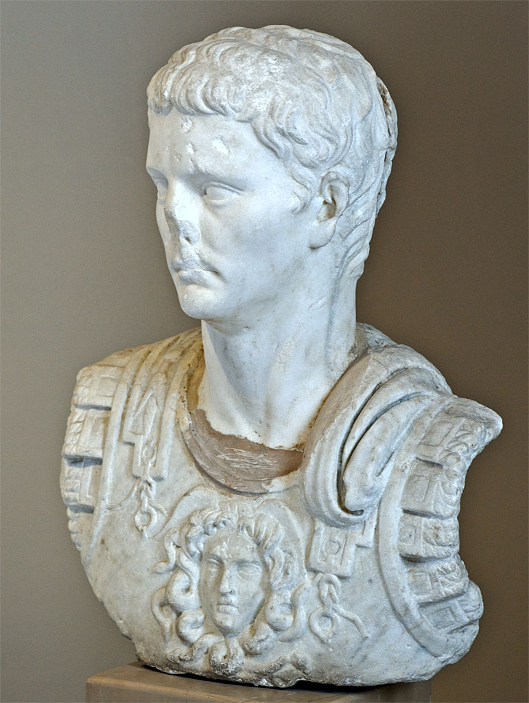 Claudius. Marble. 41—54 CE. Inv. No. 87 T (Cat. Mendel 588). Istanbul, Archaeological Museum