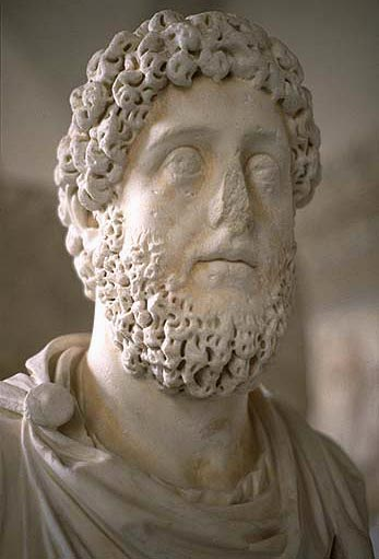Bust of the emperor Commodus. Marble. Ca. 180—192 CE. Munich, Glyptotek