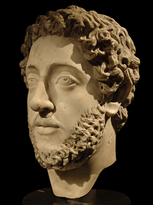 Emperor Commodus. Marble. 180—192 CE. Inv. No. I 15. Vienna, Museum of Art History, Collection of Classical Antiquities