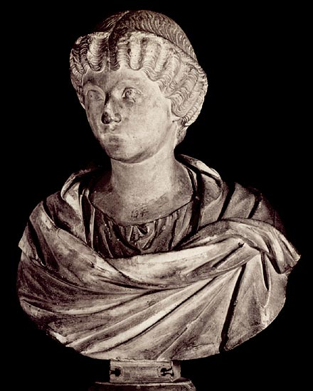Crispina, the wife of Commodus. Marble. 2nd century CE. Rome, Capitoline Museums