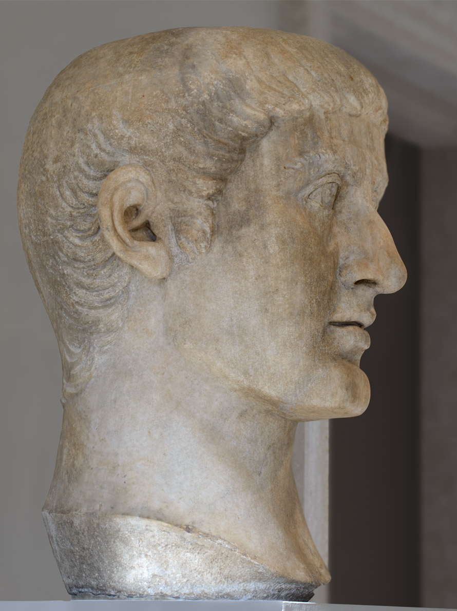 Constantine I. Marble. Ca. 324—337.  Inv. No. 26.229. New York, the Metropolitan Museum of Art