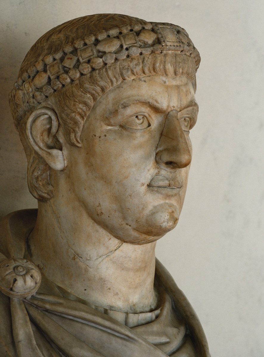 Constantine I. Marble. Inv. No. 273 (inv. 1914). Florence, Gallery of Uffizi